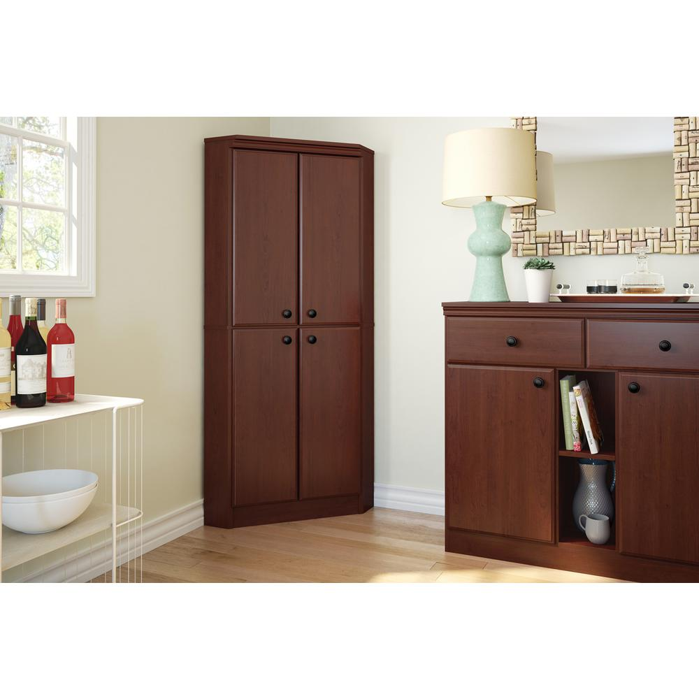 South Shore Morgan Royal Cherry Armoire