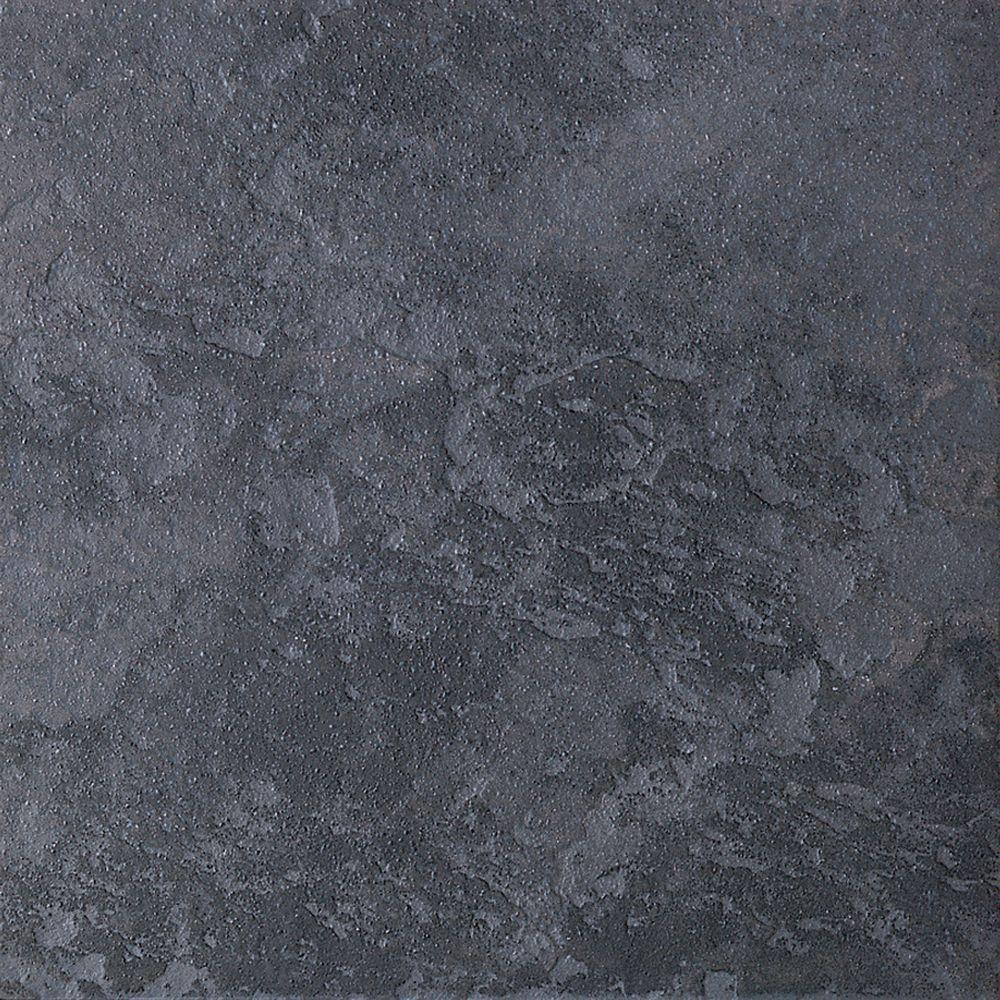 Daltile Continental Slate Asian Black 12 In X Porcelain Floor And Wall