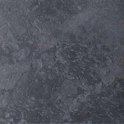 Continental Slate Asian Black 12 in. x 12 in. Porcelain Floor and Wall Tile (15 sq. ft. / case)