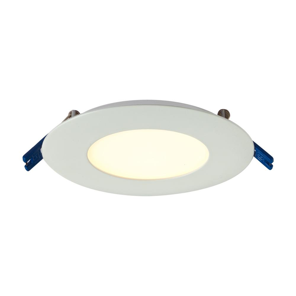 Illume Lighting 4 in. White Integrated LED Recessed Kit