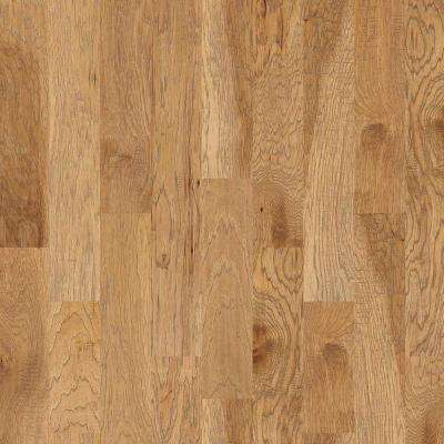 Canyon Hickory Honey 3/8 in. T x 6-3/8 in. W x Varying Length Engineered Hardwood Flooring (30.48 sq. ft. /case)