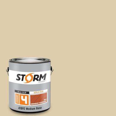 Category 4 1 gal. Sand Storm Exterior Wood Siding, Fencing and Decking Acrylic Latex Stain with Enduradeck Technology