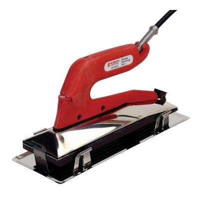 Deluxe Heat Bond Carpet Iron with Non-Stick Grooved Base