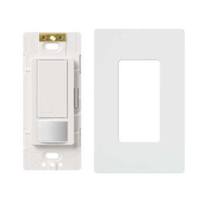 Maestro 5 Amp Single-Pole/3-Way Motion Sensor Switch with Wallplate, White