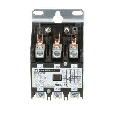 40 Amp 120-Volt AC 3 Pole Open Definite Purpose Contactor (20-Pack)