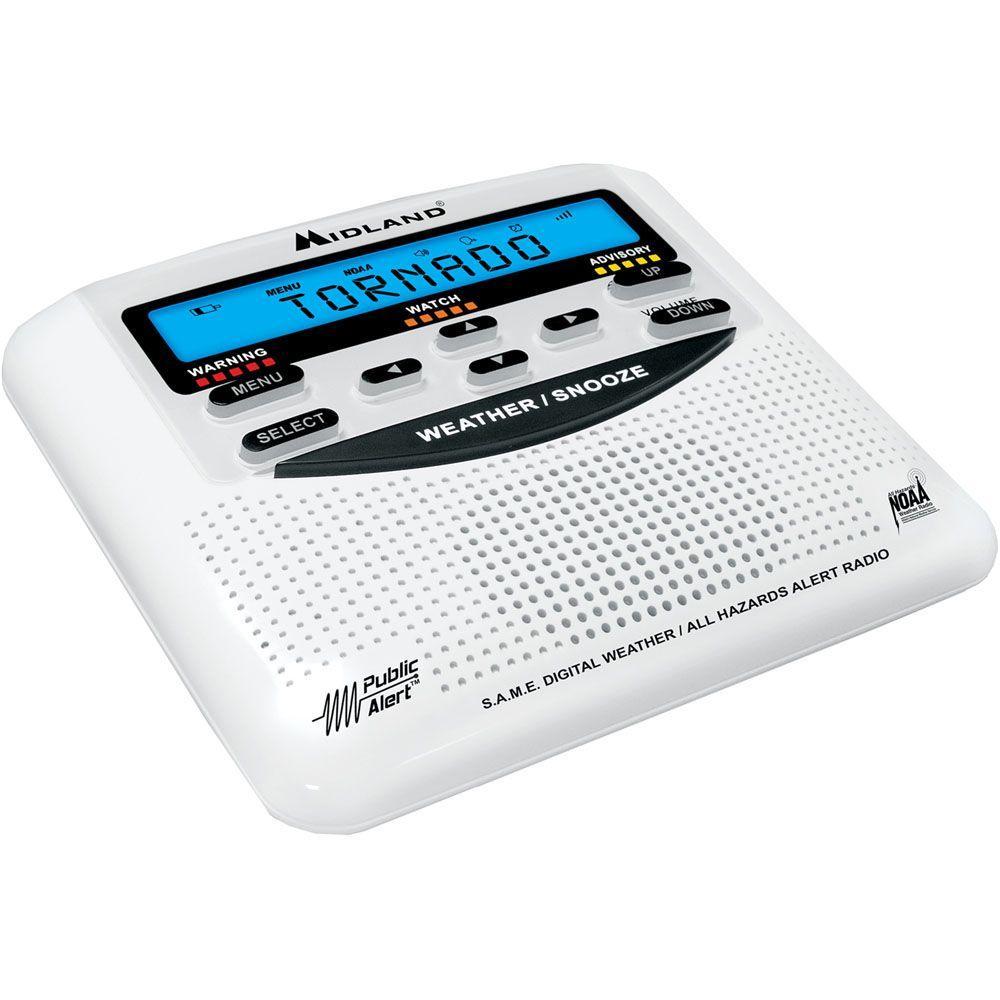 Midland 25 Code S.A.M.E. Weather Alert Radio