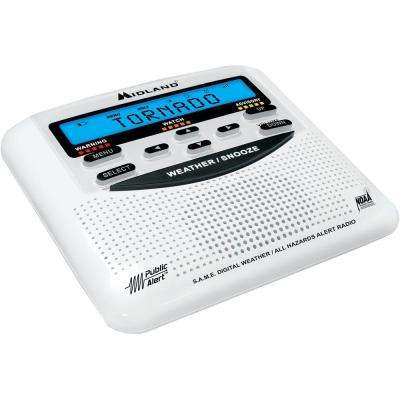 25 Code S.A.M.E. Weather Alert Radio