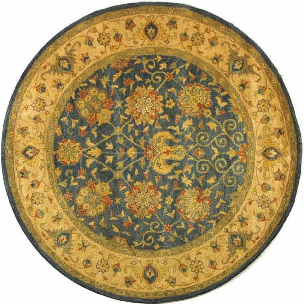 Antiquity Blue 3 ft. 6 in. x 3 ft. 6 in.