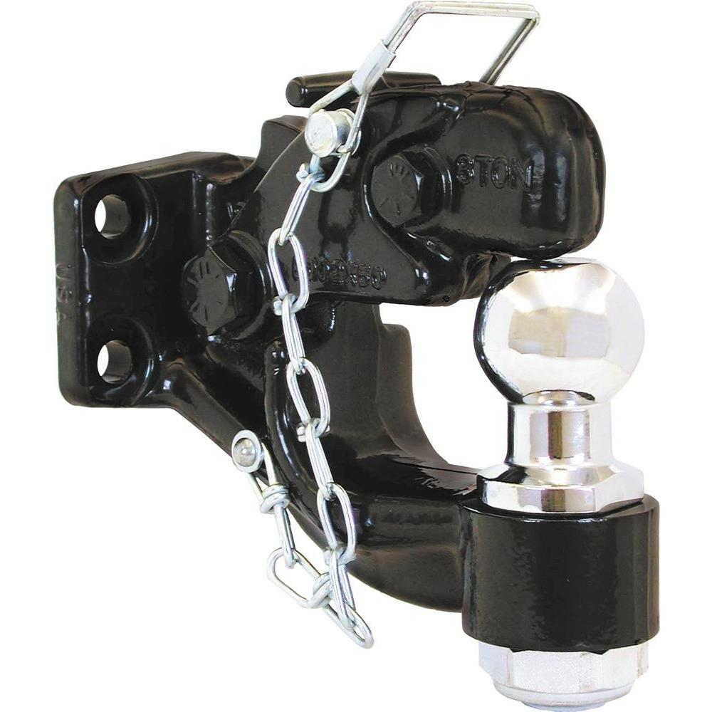 Buyers Products Company 2-5/16 in. 8-Ton Chrome Combination Hitch Ball