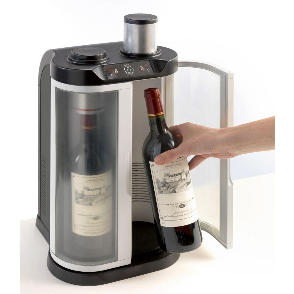 EuroCave SoWine Home Wine Bar, Stainless Steel-DISCONTINUED