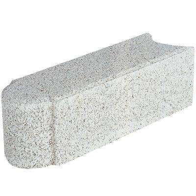 Edgestone 12 in. x 3.5 in. x 3.5 in. Limestone Concrete Edger (288-Pieces/282 sq. ft./Pallet)
