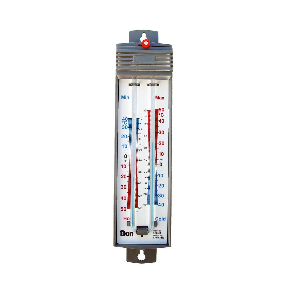 bon tool mercury free max min thermometer 82 726 the home depot