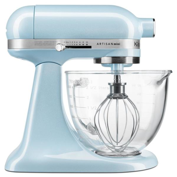 Strange Artisan Mini Design Series 3 5 Qt 10 Speed Sea Shimmer Stand Mixer With Tilt Head Home Interior And Landscaping Ologienasavecom