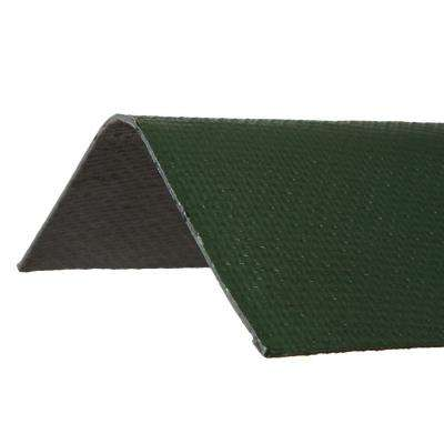 3.29 ft. x 12-1/2 in. Ridge Cap Asphalt Roof Panel in Green