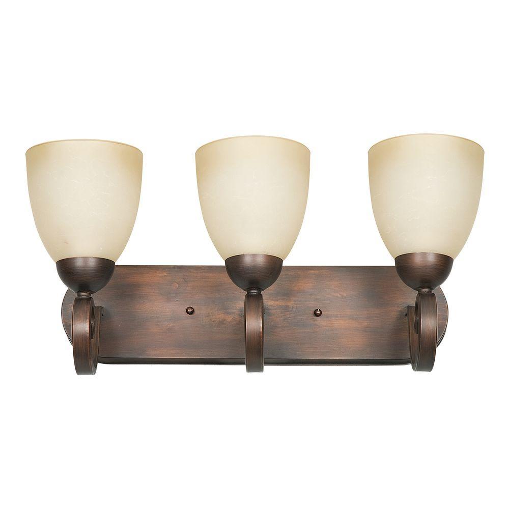 Provano 3-Light Tique Vanity Light