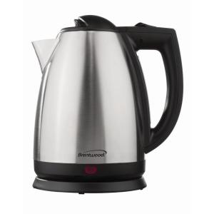8.45-Cup Stainless Steel Electric Kettle with Automatic Shut-off