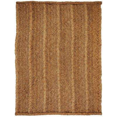 Patagonia Tan Striped 8 ft. x 10 ft. Area Rug