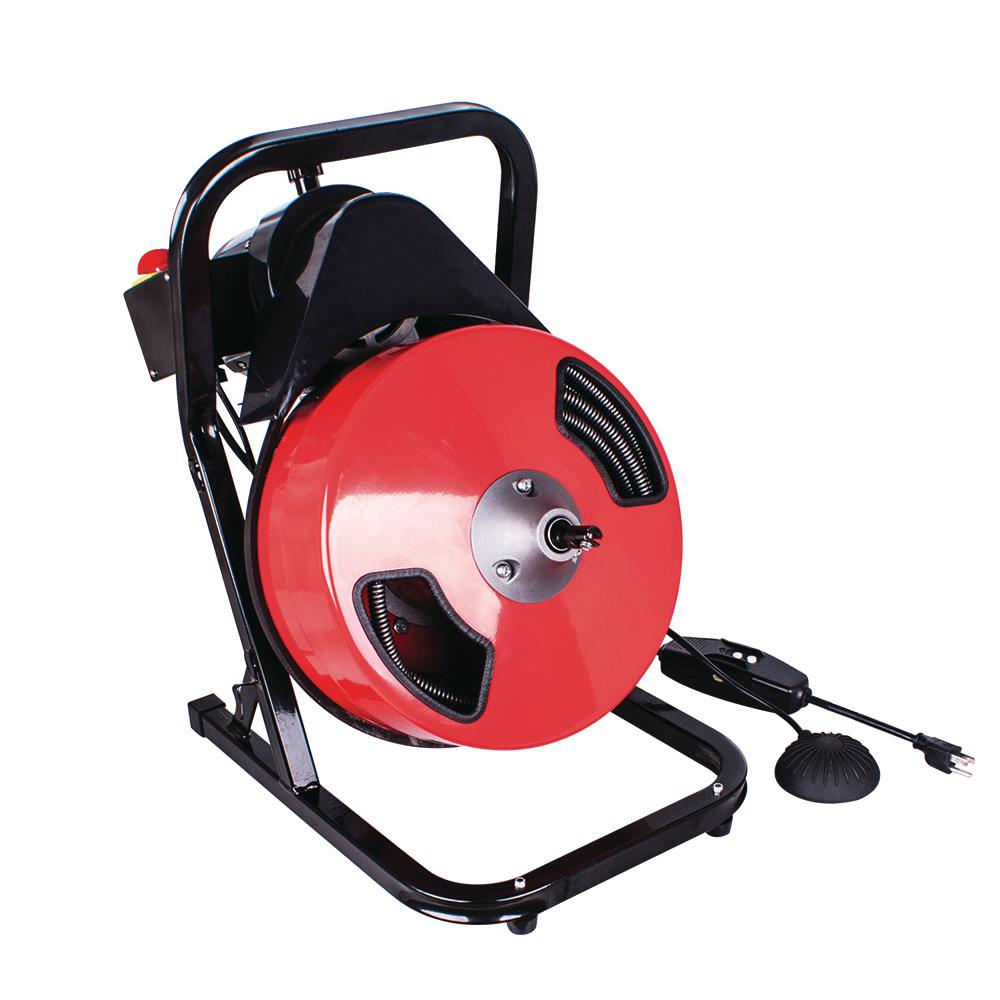 1 2 In X 50 Ft Compact Power Feed Drain Cleaner Machine