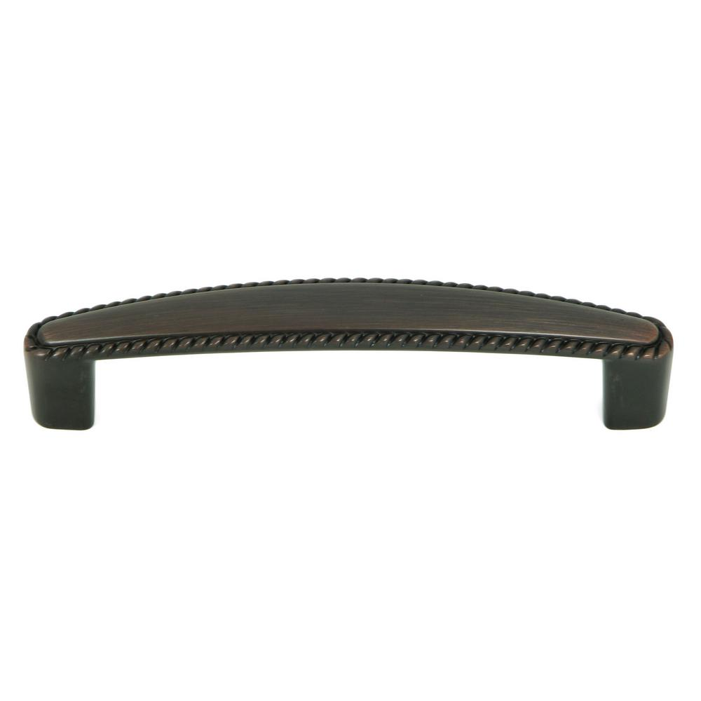Austin 3-3/4 in. Oil Rubbed Bronze Cabinet Pull