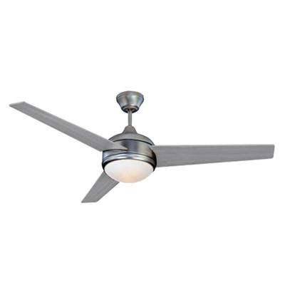 Loft 52 in. Integrated LED Brushed Nickel Ceiling Fan with Dimmable Light