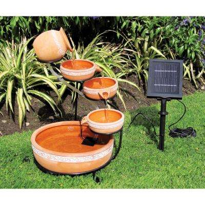 Cascading Solar Fountain Kit
