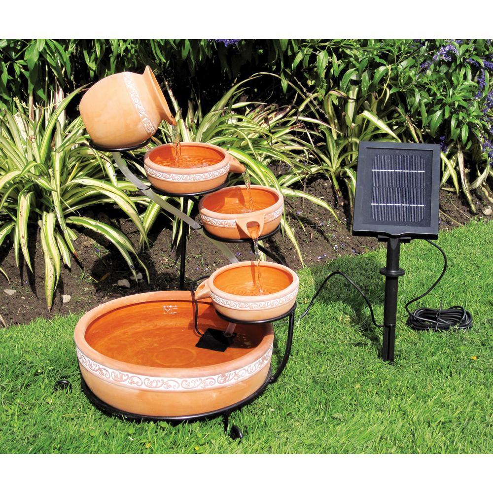 Cascading Solar Fountain Kit
