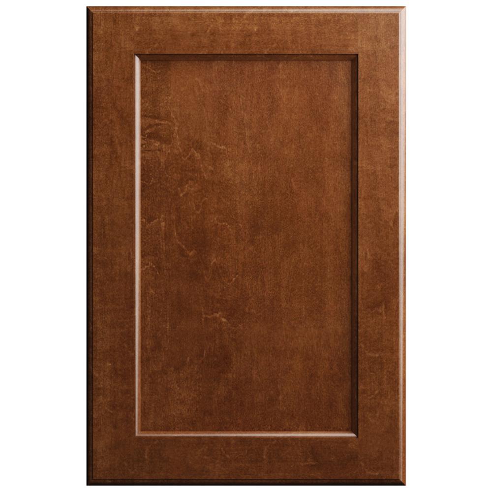 11x15 in. Keary Cabinet Door Sample in Paprika