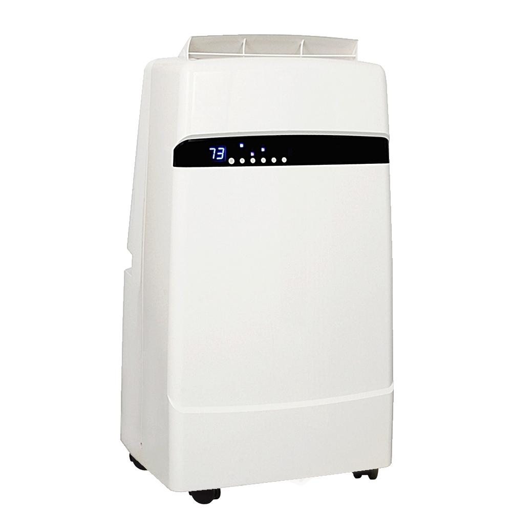 Whynter 12,000 BTU Portable Air Conditioner with Dehumidifier and Remote, White