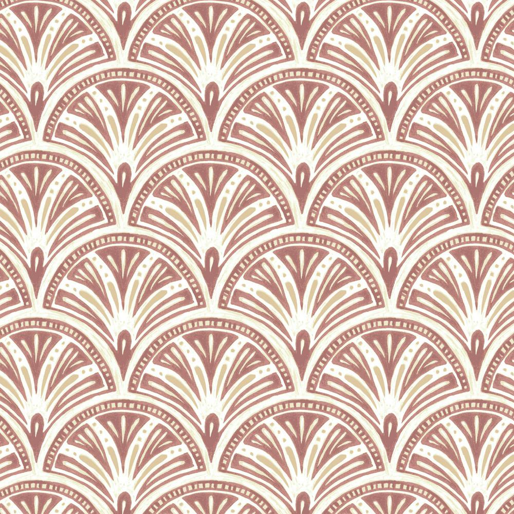 Arden Selections Artisans 36 in. x 54 in. Gatsby Deco Geo Fabric by ...