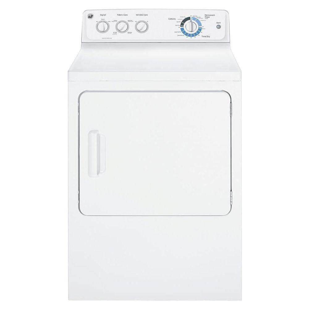 GE 7.0 cu. ft. Electric Dryer in White