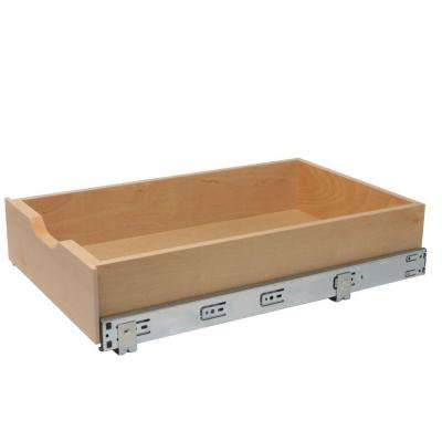 5 in. H x 14.78 in. W x 22 in. D Soft-Close Wood Drawer Box Pull-Out Cabinet Organizer
