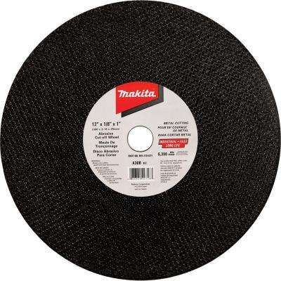 12 in. Abrasive Cut-Off Wheel for Ferrous Metals (10-Pack)