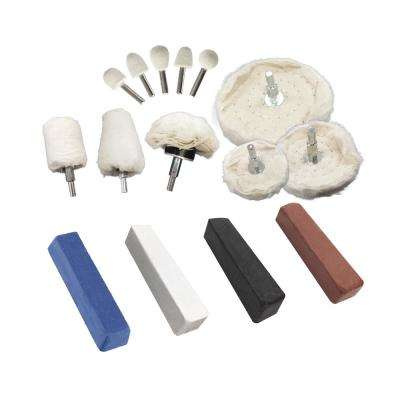 Aluminum Polishing Kit (15-Piece)