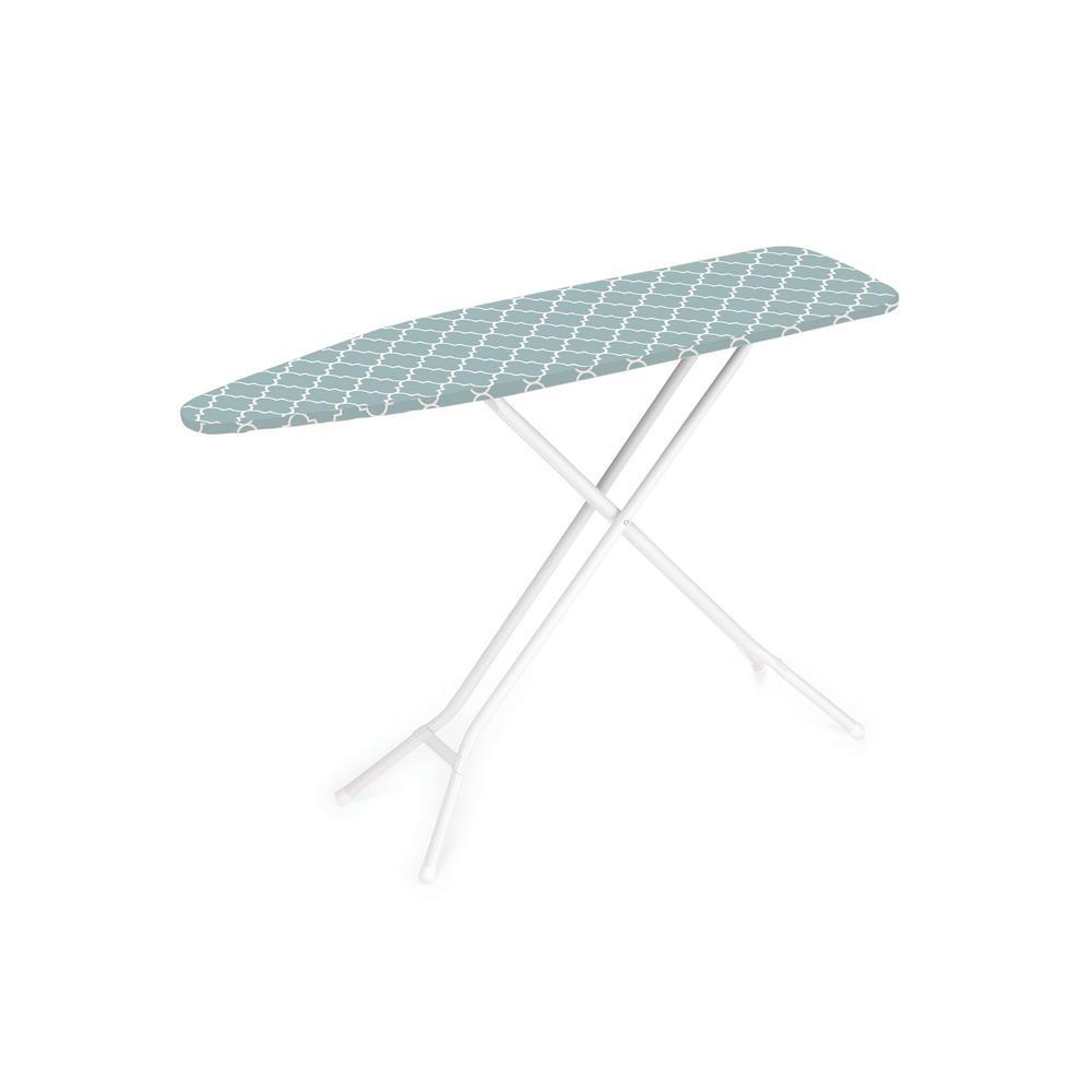 HOMZ HOMZ 4-Leg Ironing Board in Blue Lattice