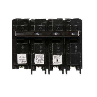 50 Amp Three-Pole Type QP Circuit Breaker with 120-Volt Shunt Trip