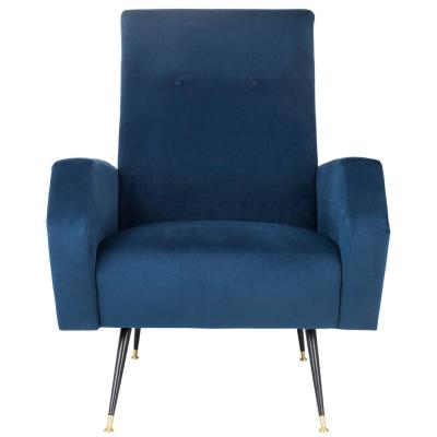 Aida Navy Accent Chair
