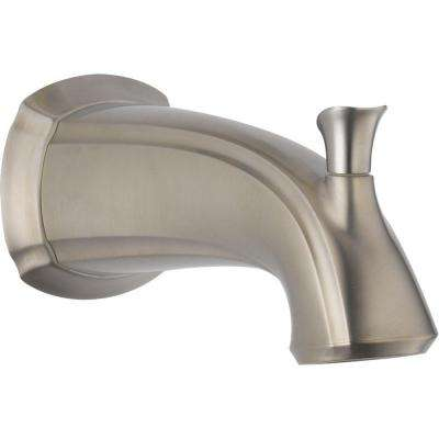 Addison 7-1/2 in. Non-Metallic Pull-Up Diverter Tub Spout in Stainless