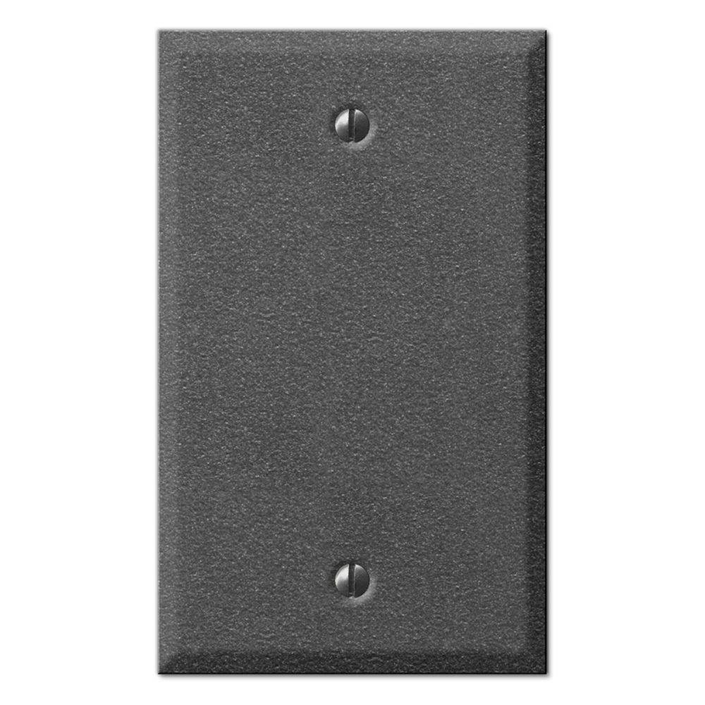 Creative Accents Pewter 1 Toggle Wall Plate - Antique Pewter-DISCONTINUED