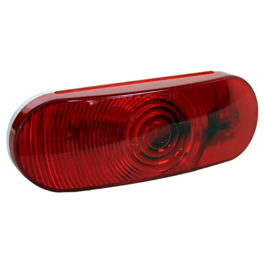 6 in. Sealed Oval Stop/Tail/Turn Light (50-Pack)