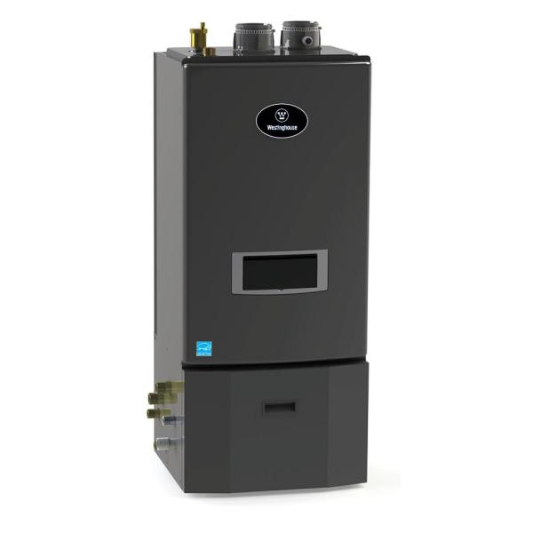 Condensing 96% Natural Gas Space Heating Floor Mount Boiler w/Optional Domestic Hot Water with 140,000 BTU Input