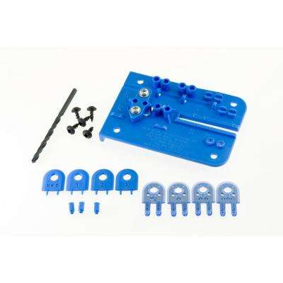 MJ Splitter SteelPro 1/8 in. Full Kerf Splitter Kit in Blue