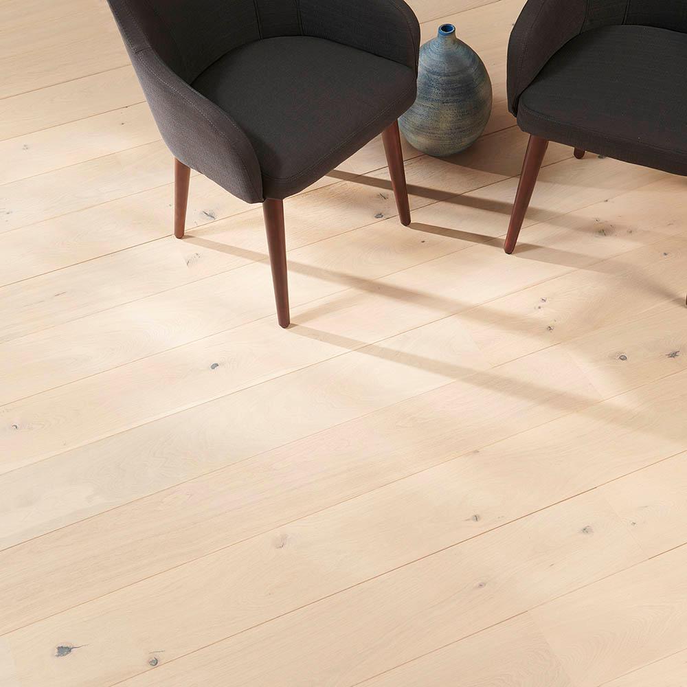 Take Home Sample -Everest Oak Engineered Hardwood Flooring - 7-7/16 in. x 8 in.