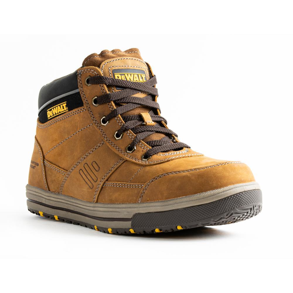 Men's Camden 6 in. Work Boots - Steel Toe - Brown (9.5)M