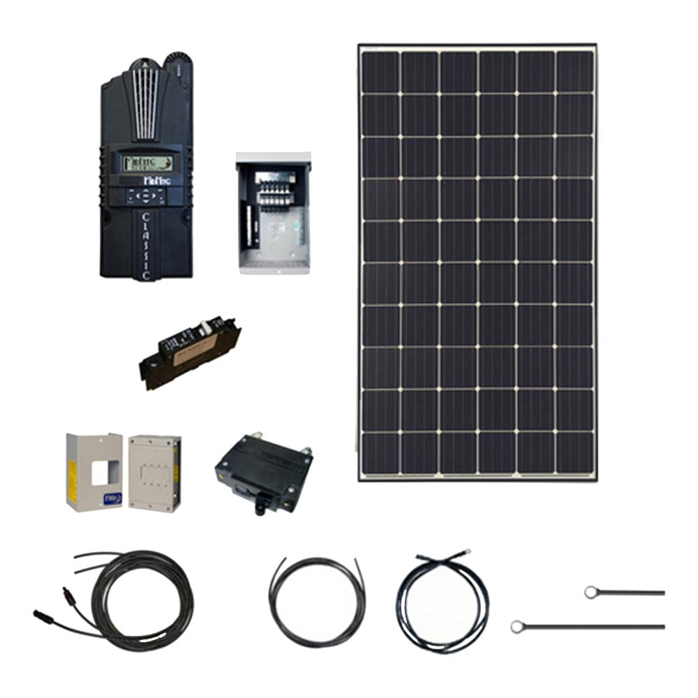 Renogy 3600-Watt 48-Volt Monocrystalline Solar Cabin Kit for Off-Grid Solar  System