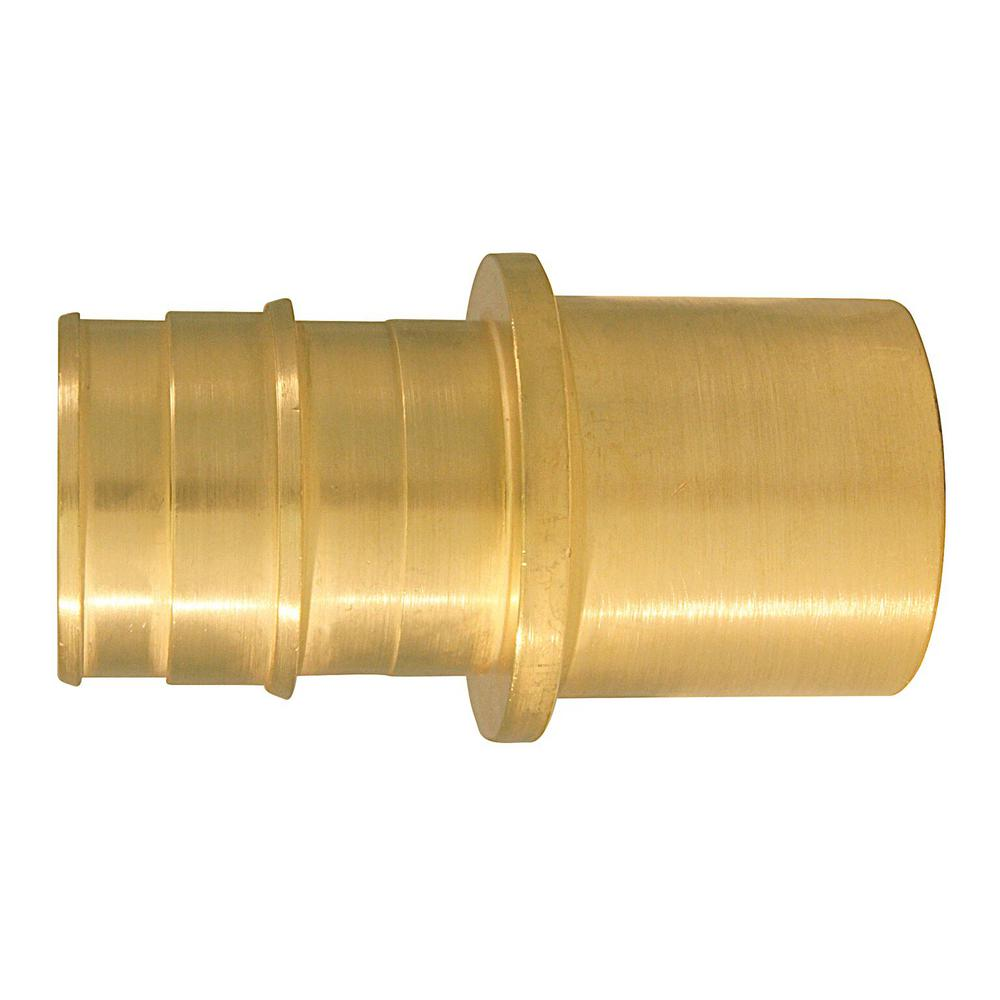 1 in. Brass PEX-A Expansion Barb x 1 in. Male Sweat
