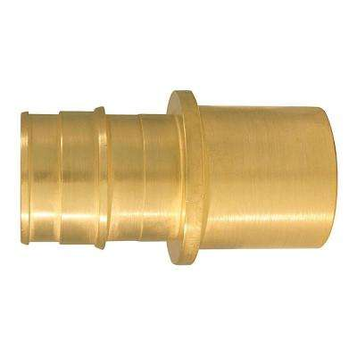 1 in. Brass PEX-A Expansion Barb x 1 in. Male Sweat Adapter (5-Pack)