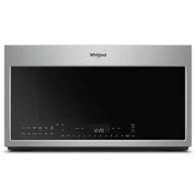 30 in W 1.9 cu. ft. Smart Over the Range Convection Microwave in Fingerprint Resistant Stainless Steel