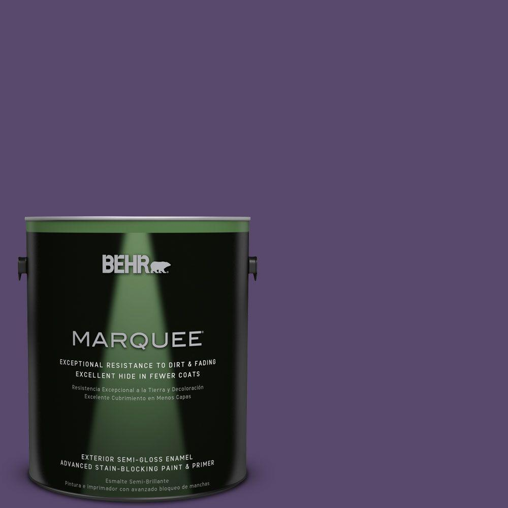 Purple-Exterior-Gloss-Paint. P570 7 Proper Purple Semi Gloss Enamel