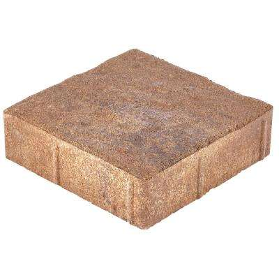 Valenda Medium 7.75 in. x 7.75 in. x 2.25 in. Three Tone Brown Concrete Paver (240 Pcs. / 103 Sq. ft. / Pallet)