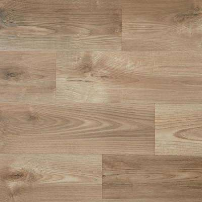 Valney Walnut 12 mm Thick x 7-5/8 in. Wide x 54-1/3 in. Length Laminate Flooring (14.18 sq. ft. / case)